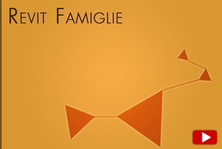 video corso avanzato Revit Famiglie